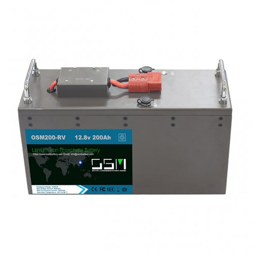 12v 200ah lithium ion deep cycle battery