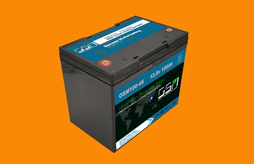 12.8v 100Ah lifepo4 battery