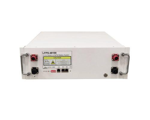 5.12kWh battery rack mounted