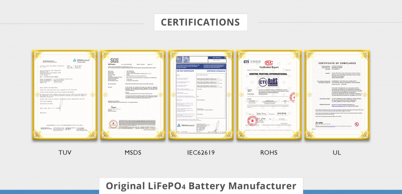 5 kwh battery certification