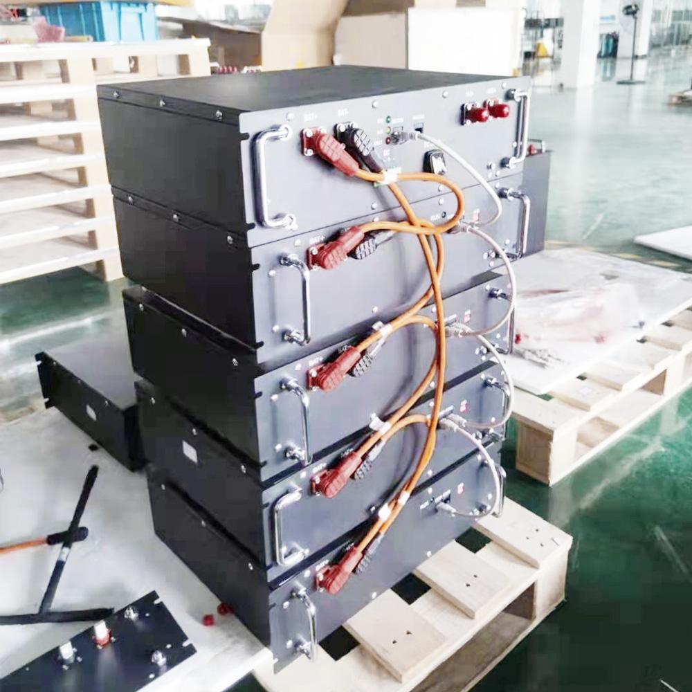 HV 3.5U Rack Lithium battery system
