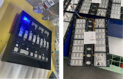 laser welding battery packs