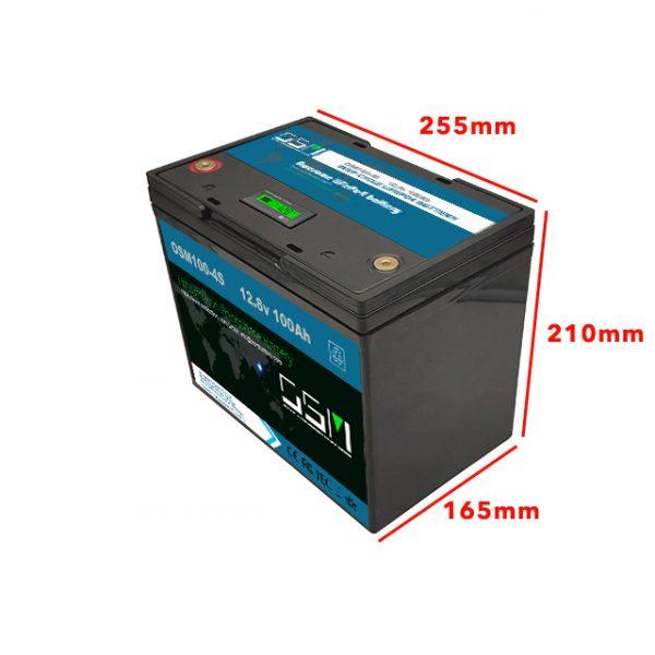 12v 100ah lead acid replace battery