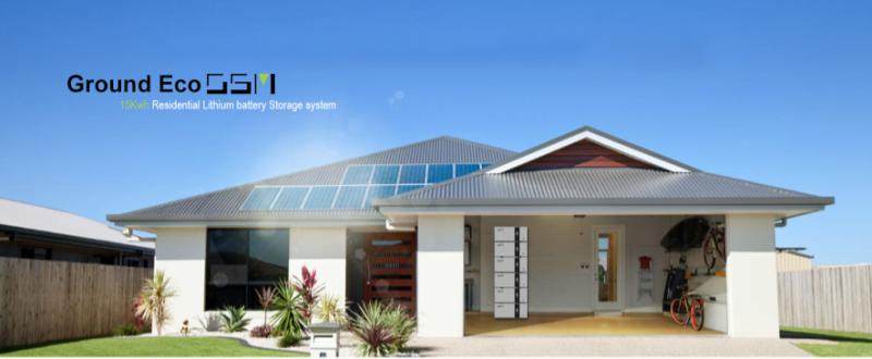 OSM solar battery storage solution
